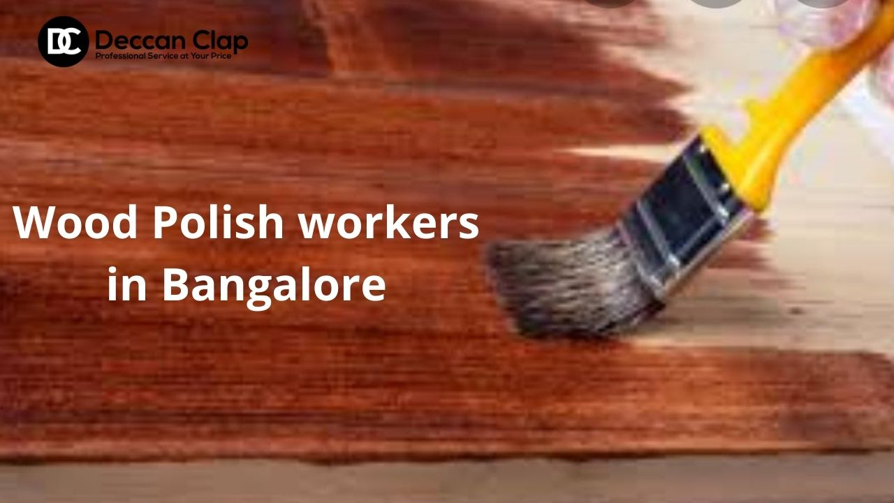 Wood Polish workers in Bangalore