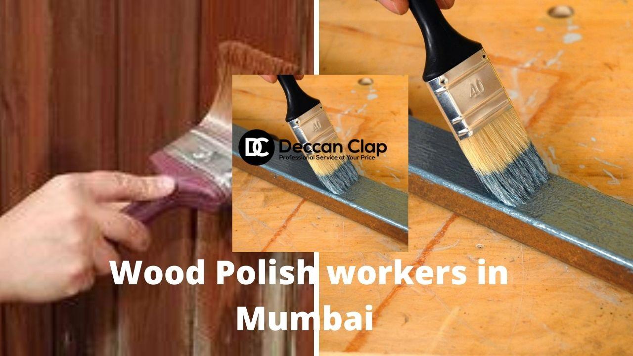 Wood Polish workers in Mumbai