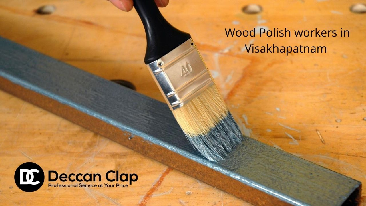 Wood Polish workers in Visakhapatnam